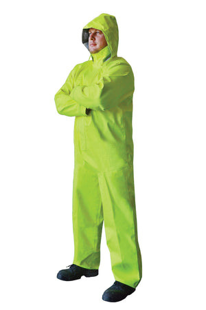 RAIN CHEMICAL RESISTANT ANTI STATIC BREATHABLE OVERALL