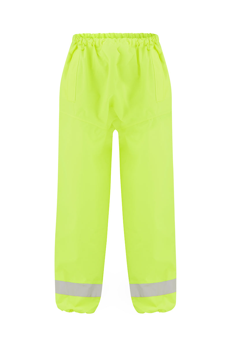 RAIN BREATHABLE AND WATERPROOF PANTS (REFLECTIVE)