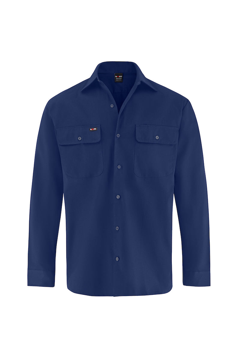 LONG SLEEVE COTTON DRILL SHIRT-Riggers Online Store