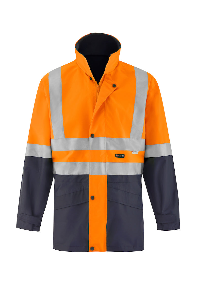 SAFETY JACKET (REFLECTIVE - TWO TONE)