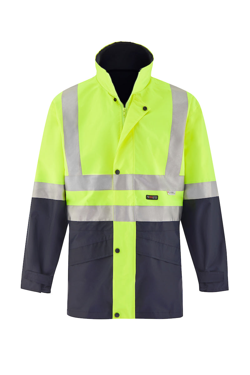 SAFETY JACKET (REFLECTIVE - TWO TONE)-Riggers Online Store