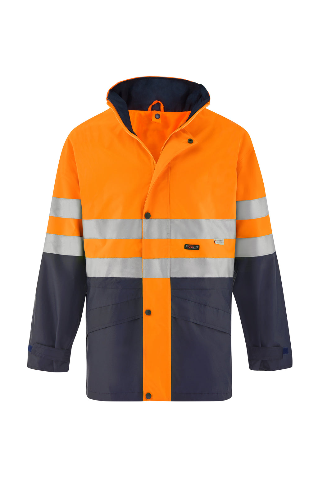 SAFETY JACKET (HOOP REFLECTIVE - TWO TONE)-Riggers Online Store