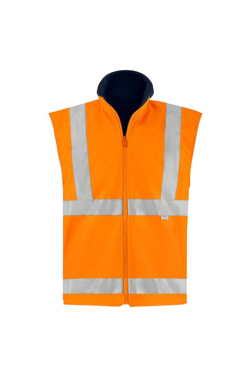 SAFETY REVERSIBLE VEST (REFLECTIVE - TWO TONE)-Riggers Online Store