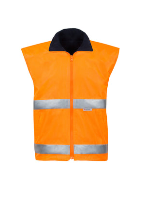 SAFETY REVERSIBLE VEST (HOOP REFLECTIVE - TWO TONE)-Riggers Online Store