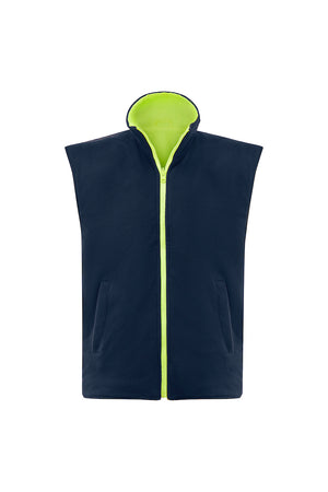 SAFETY REVERSIBLE VEST (REFLECTIVE - TWO TONE)