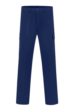 HEAVY WEIGHT COTTON DRILL CARGO TROUSERS