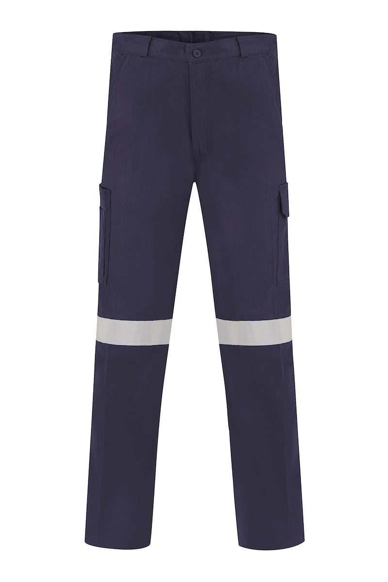 INDURA ULTRASOFT FIRE RETARDANT HRC2 CARGO TROUSERS (FR REFLECTIVE)-Riggers Online Store
