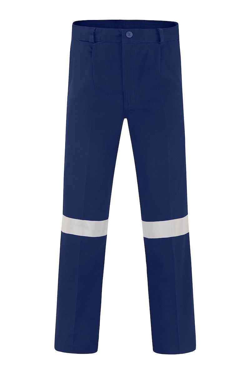 HEAVY WEIGHT COTTON DRILL TROUSERS (REFLECTIVE)-Riggers Online Store