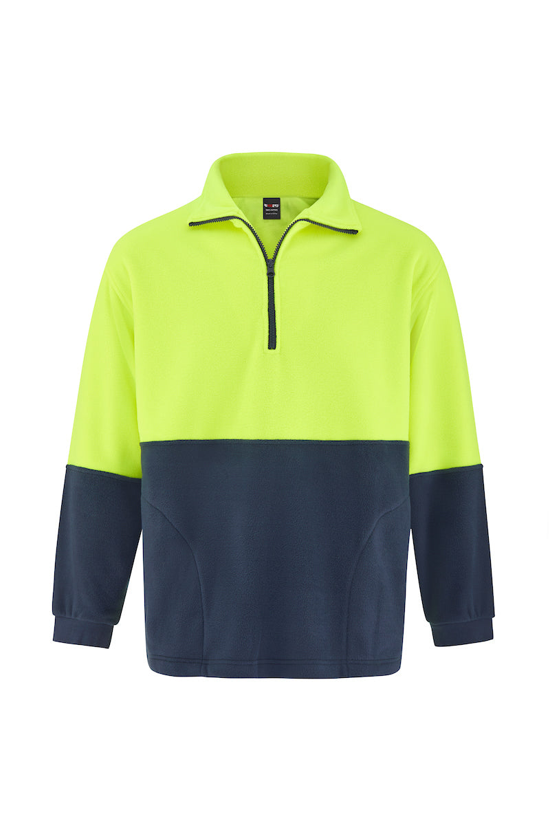 HALF ZIP POLAR FLEECE WINDCHEATER (TWO TONE)-Riggers Online Store