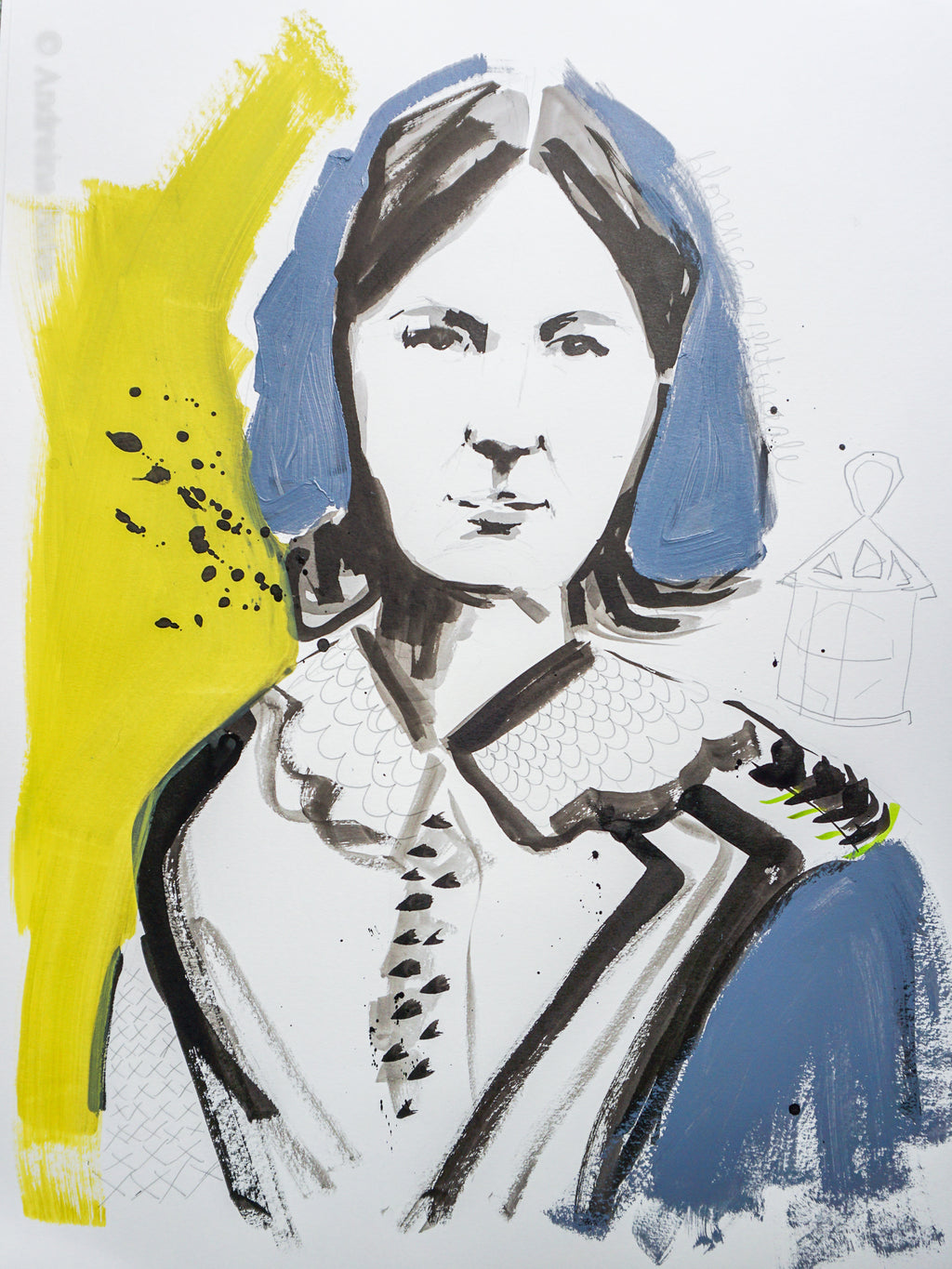 Florence Nightingale - Paper Study