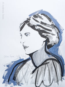 Virginia Woolf - Paper Study