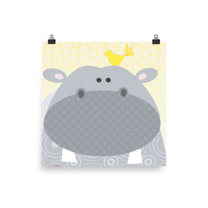 Hippo Illustration