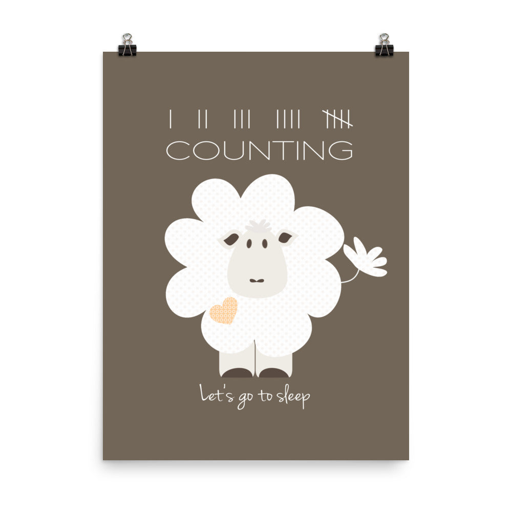 Counting Sheep Illustration