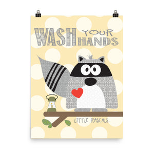 Bath Rules Raccoon