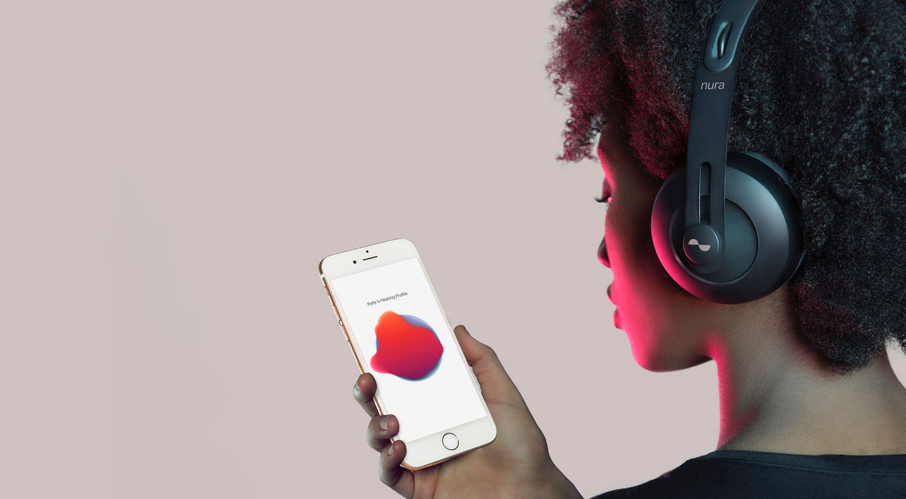 nura nuraphone wireless bluetooth headphones