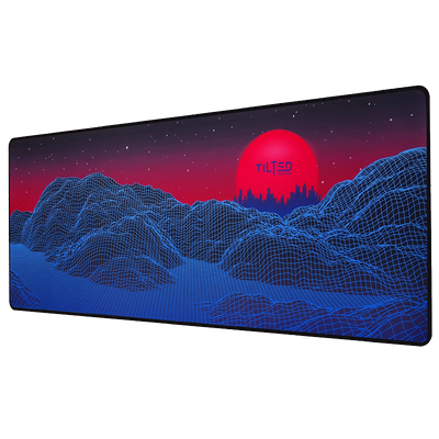 "TNSYNTH | Vapor Galaxy Extended Gaming Mouse Pad 31.5"" - Spill Proof"