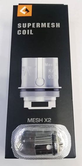 Super Mesh X2 – Geek Vape (5 Pack)