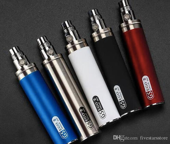 eGo 2200mAh 510 Battery Silver