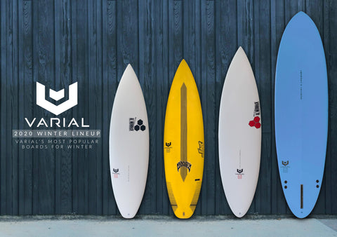 The 2020 Varial Winter Lineup