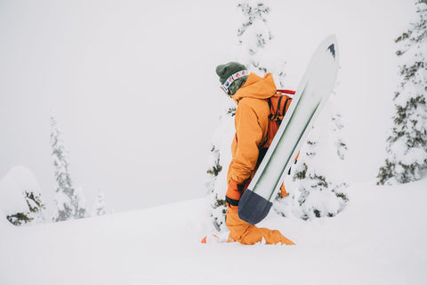 Unbinding The Possibilities Of Big Mountain Powder Surfing