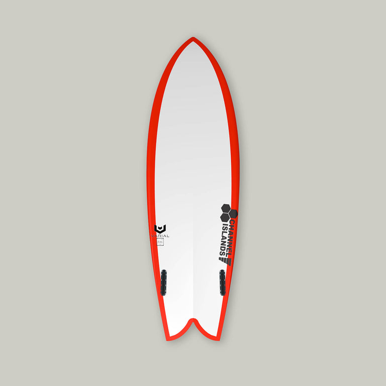 Chemistry Surfboards B-Side Surfboard bottom. Built with Varial Foam and Infused Glass Technology. Fully customizable performance surfboard. Epoxy or polyester resin, Futures of FCSII fins, colored airbrush and custom glass.