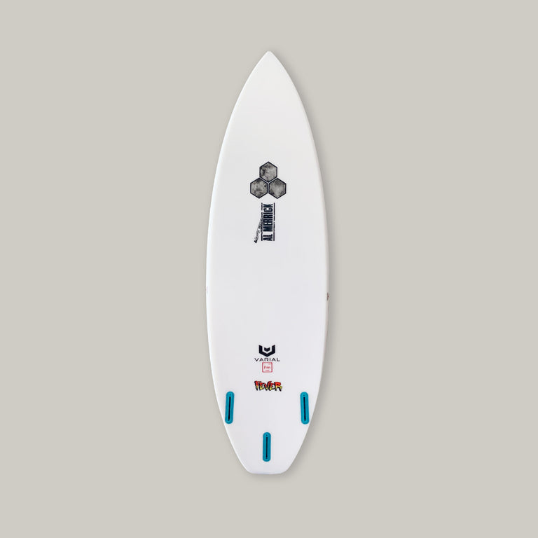 fever, channel island, varial technology, shortboard, surfboard, futures, kelly slater, in stock