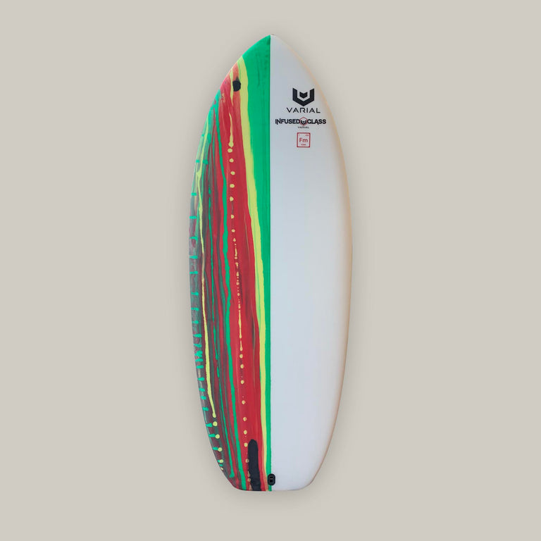 Hydrofoil surfboard for sale. Built with infused glass and varial foam core. Best hydrofoil surfboard design to fit any surf foil.