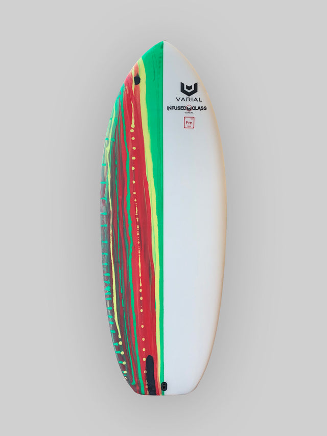 "Foil board for sale. 4'6"" with varial infused glass and varial foam core. Strong layup, ideal for any surfboard foil"