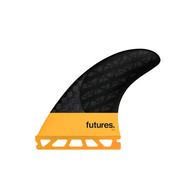 Futures EA Blackstix, designed by Eric Arakawa of EA Surfboards
