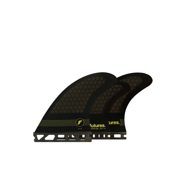Futures F6 5-Fin Honeycomb surfboard fins