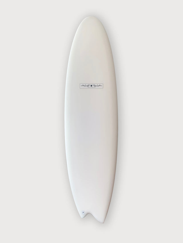 Lovelace surfcraft soopersnake surfboard. Hand shaped surfboard by Ryan Lovelace. Asymmetrical surfboard, asym, performance surfboard. In stock Ryan lovelace surfboard. Built with Varial foam infused glass and varial foam stringerless surfboard blank.