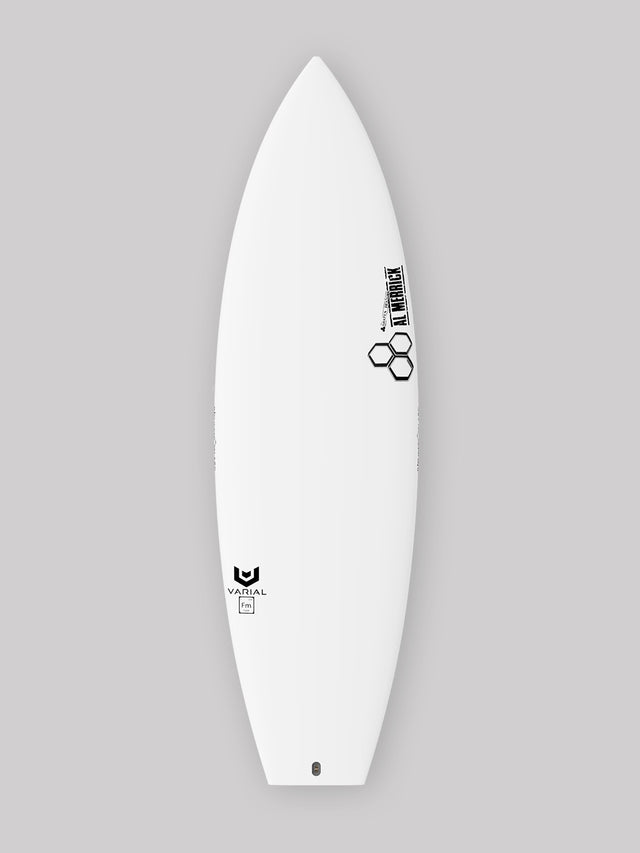 Channel Islands Surfboards Neckbeard 2. Groveler surfboard built with Varial Foam and Infused Glass. Custom dims, color, fin boxes, custom surfboard carbon and surfboard glass. In stock and custom options available.