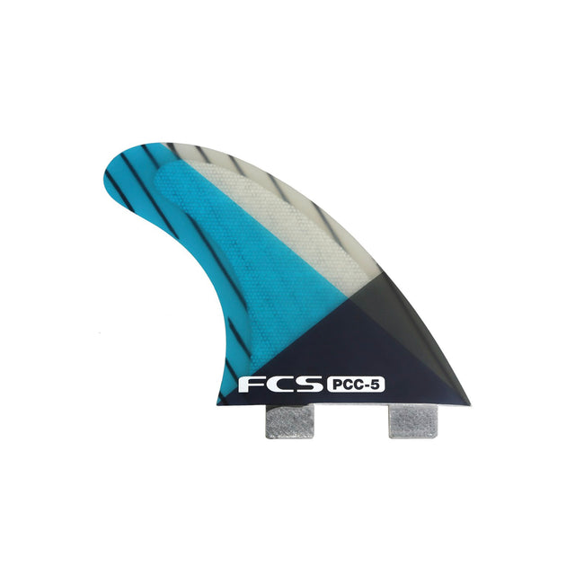 FCS PCC Tri Fins. FCS fins, with inside foil technology. Good for performance shortboards and hybrid models.