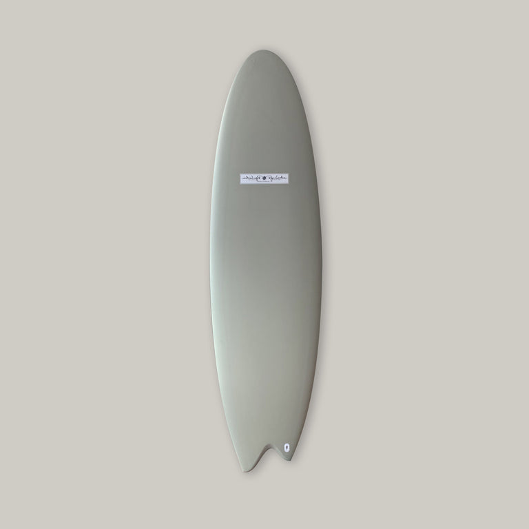 Hand Shaped Ryan Lovelace soopersnake surfboard. Asymmetrical design surfboard, asym surfboard, performance surfboard. In stock Ryan lovelace surfboard. Built with Varial foam infused glass and varial foam stringerless surfboard blank, futures fins, polyester resin.
