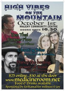 High Vibes on The Mountain Oct 2016, plus Eumundi Wellness Month