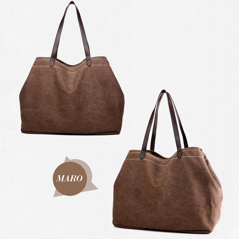 Capacitate mare retro Handbag Canvas Casual