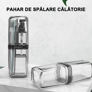Set de cupe portabile de spalare de calatorie 8 in 1