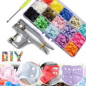 Set de bricolaj snap button (Set 150 buc)