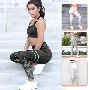 Leggings-Gym Leggings Tummy Control Shapewear