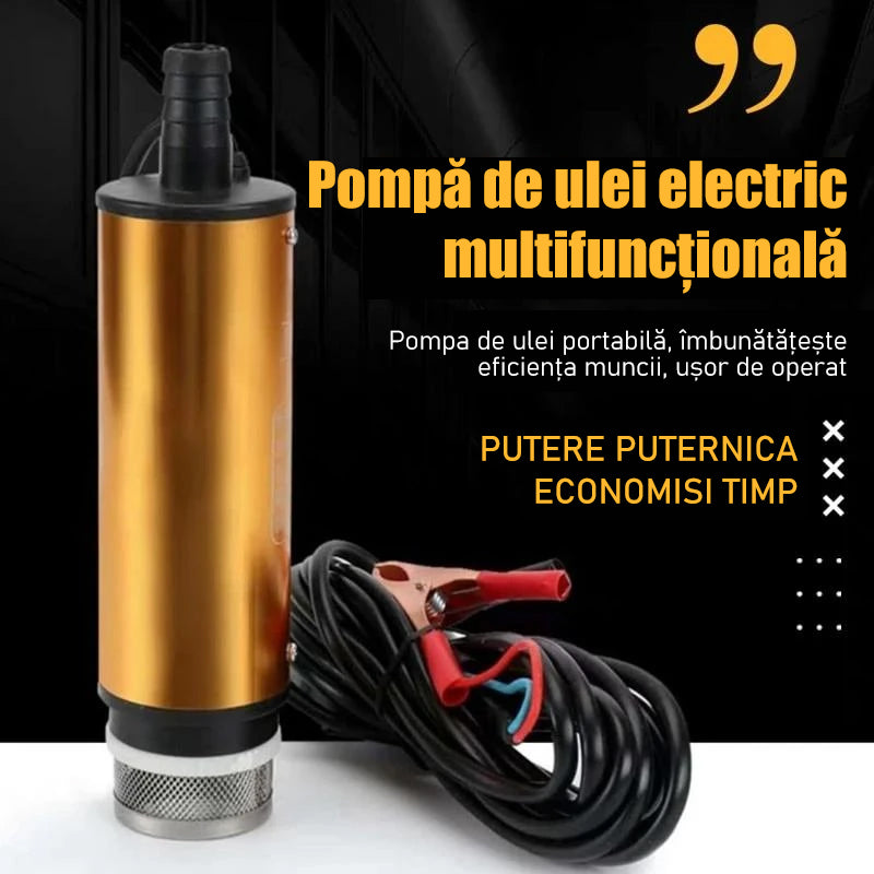 Pompa de ulei electric multifunctionala