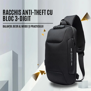 ROESHOP™ Anti-theft Backpack With 3-Digit Lock