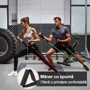 (Transport gratuit)Home fitness trage coarda coarda elastica