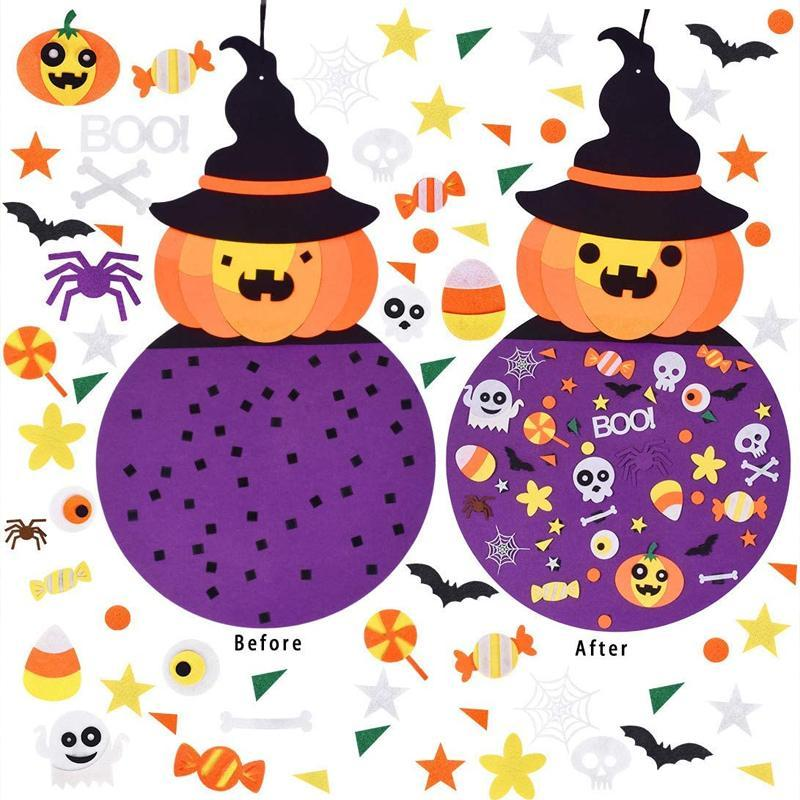 Copii Halloween DIY Felt Craft