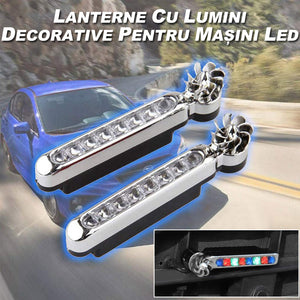 Lumini decorative LED auto, 2 buc