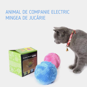 Pet jucarie de plus electrice mingii