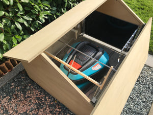 NEW ROBOHUT - plywood - DIY - door black