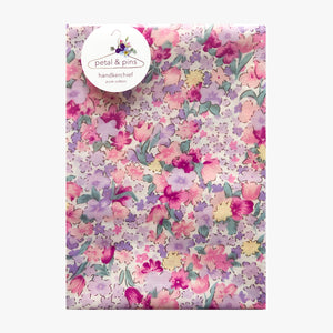 cottage garden handkerchief by petal & pins