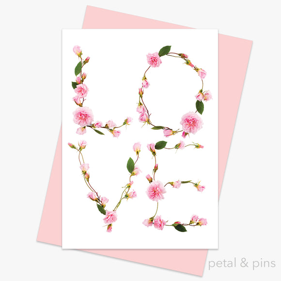 love card from the love letters collection. by petal & pins