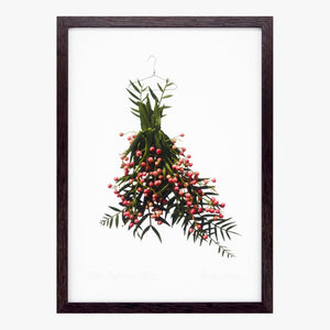 peppercorn dress art print by petal & pins