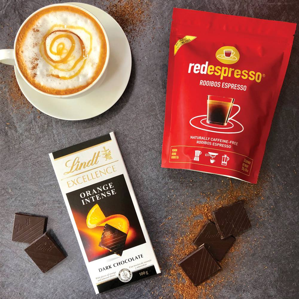 Lindt and red espresso®